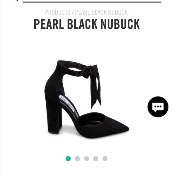 Steve Madden Shoes   Pearl Black Nubuck